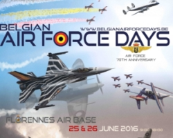Aerocircular® Is Attending The Belgian Air Force Days 2016