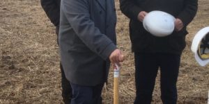 Groundbreaking Ceremony For Our Ostend Dismantling Hall